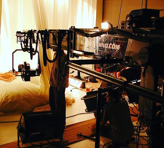 A super Technocrane being a voyeur. . . . #camera #technocrane #supertechnocrane #dp #dırectorofphotography #gettheshot #producer #onset #setlife #bts #cinema #cinematography #photooftheday #cameraoperator #cameraassistant #hardwork #asc #alexa #production #productionlife #goals #outdoors #voyeur #filmmaking #movies #crewlife  #goodvibes #instagood #sexy