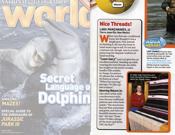National Geographic World, August 2001