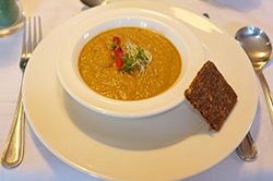 Raw Pumpkin Soup