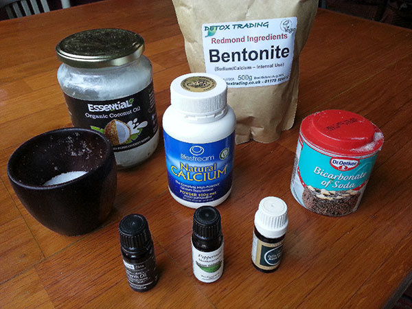 detox ingredients