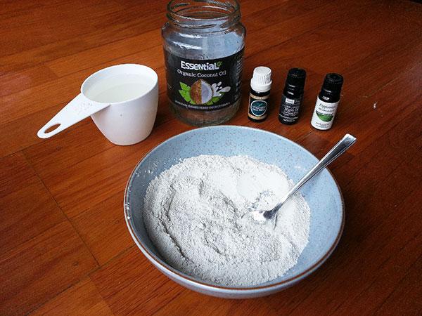 detox powders mixed