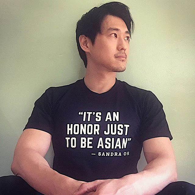 It's the most wonderful time of the year. May is #AsianAmericanHeritgaeMonth Thankyou @iamsandraohinsta for continuing to be an #inspirAsian and to @eastwestplayers for this proud shirt!  Am so here for celebrating increasing Asian #inclusion #representation and #diversity in Hollywood. #LetsGo
