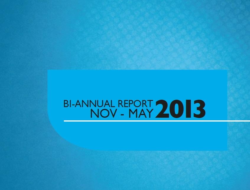 Bi-Annual Report May 2013