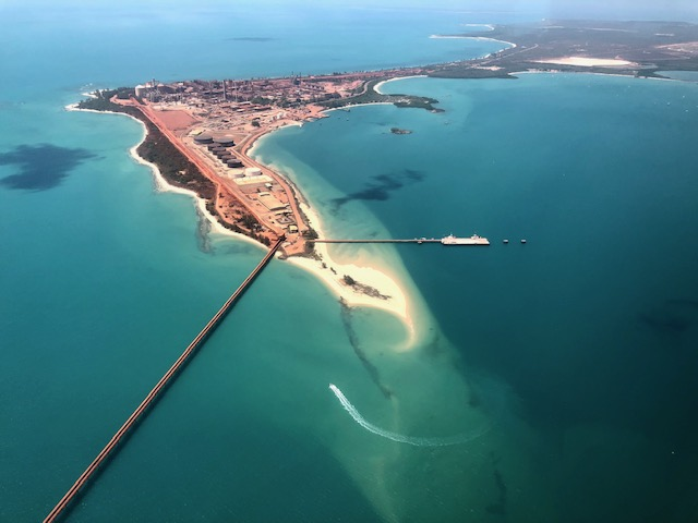 Ariel view of Nhulunbuy