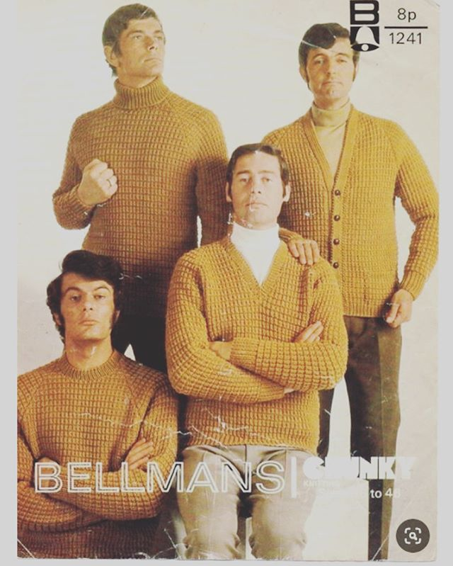 Dream Boy Band! ❤️❤️#swoon #bellmansknitting #sweatermeat