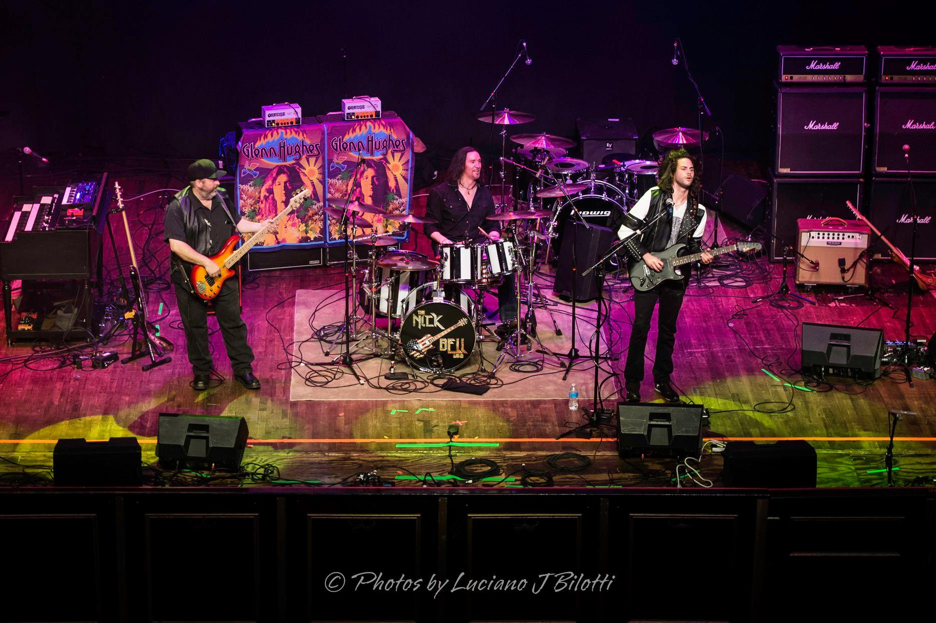 Nick Bell Band on support with Glenn Hughes of Deep Purple/Black Sabbath - 2019