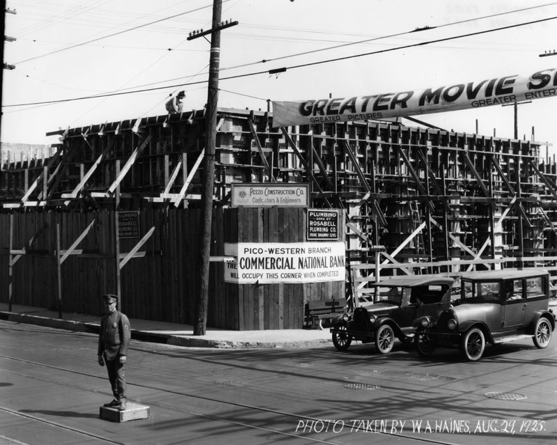 1925:  Pico and Western