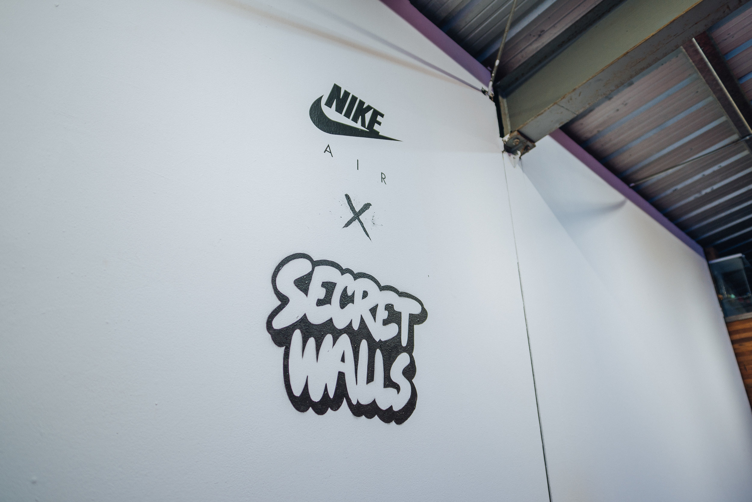 Nike x Secret Walls