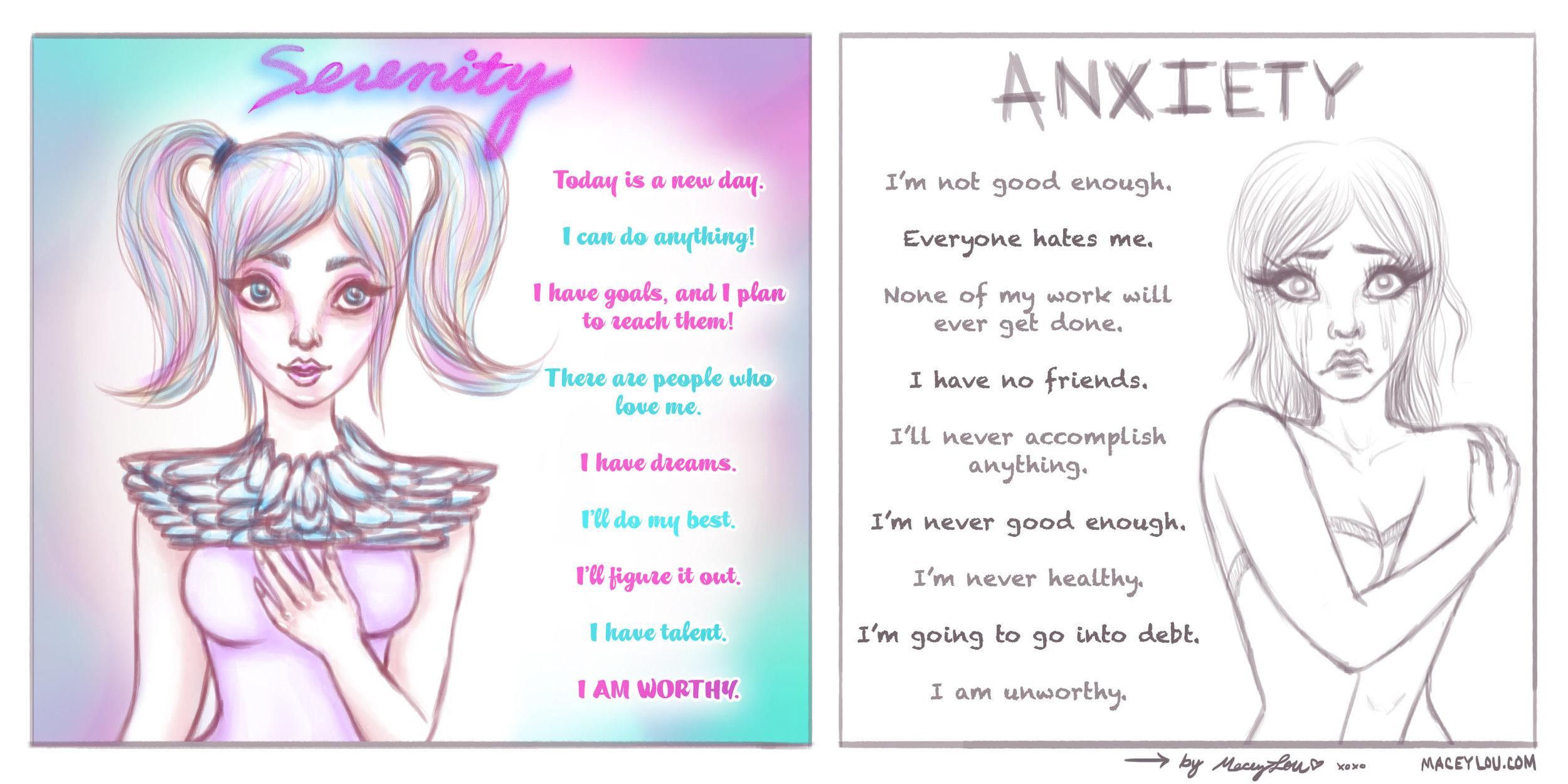 anxiety comic 001