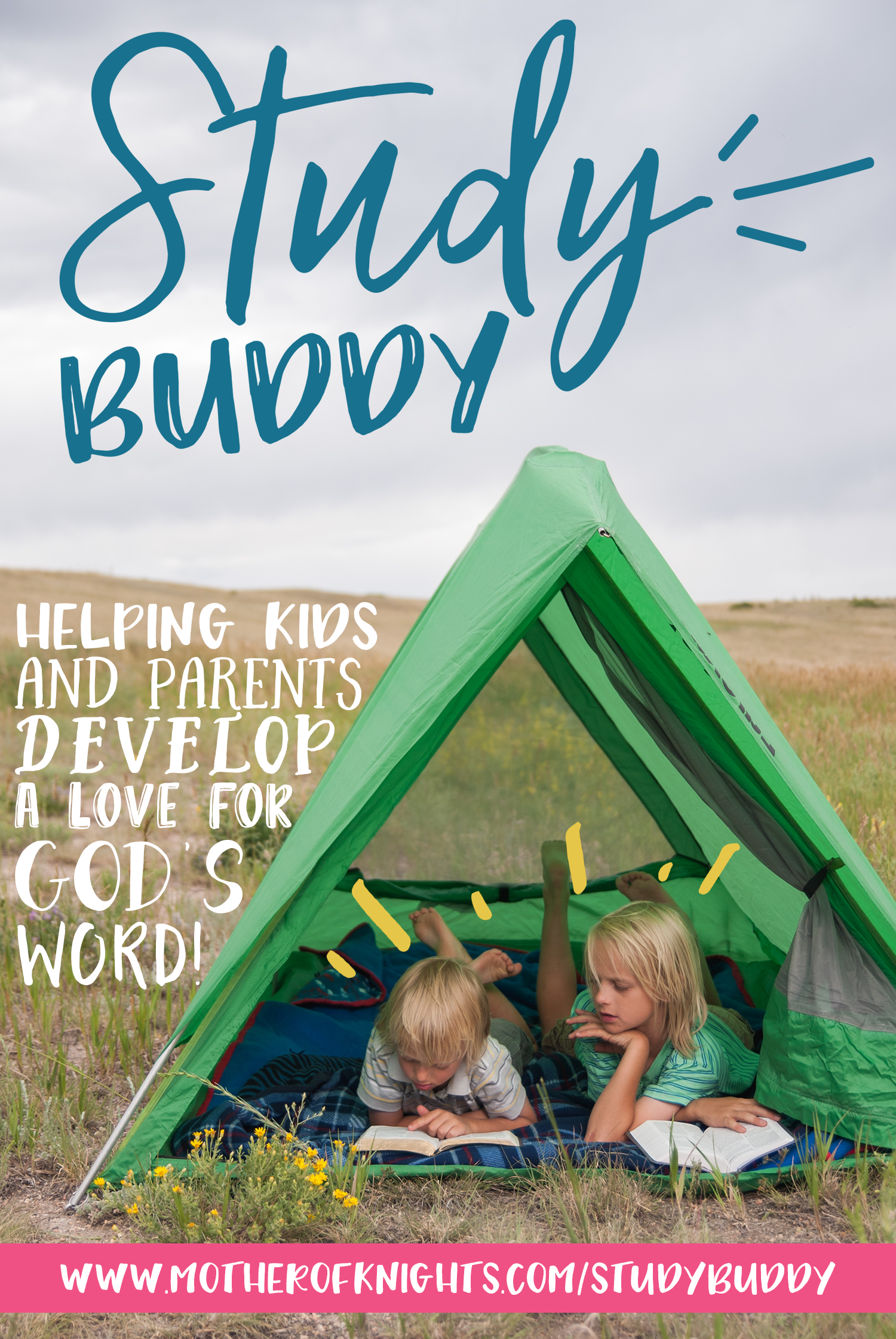 Check out the brand new series of Bible Study guides for parents and children to work through together — as Study Buddies! | www.motherofknights.com/studybuddy
