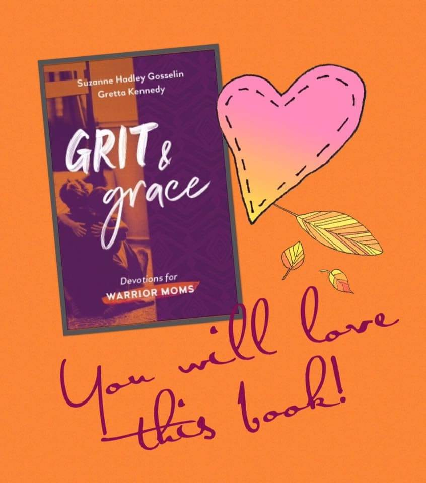 Get your copy of Suzanne's devotional here:  grit and grace