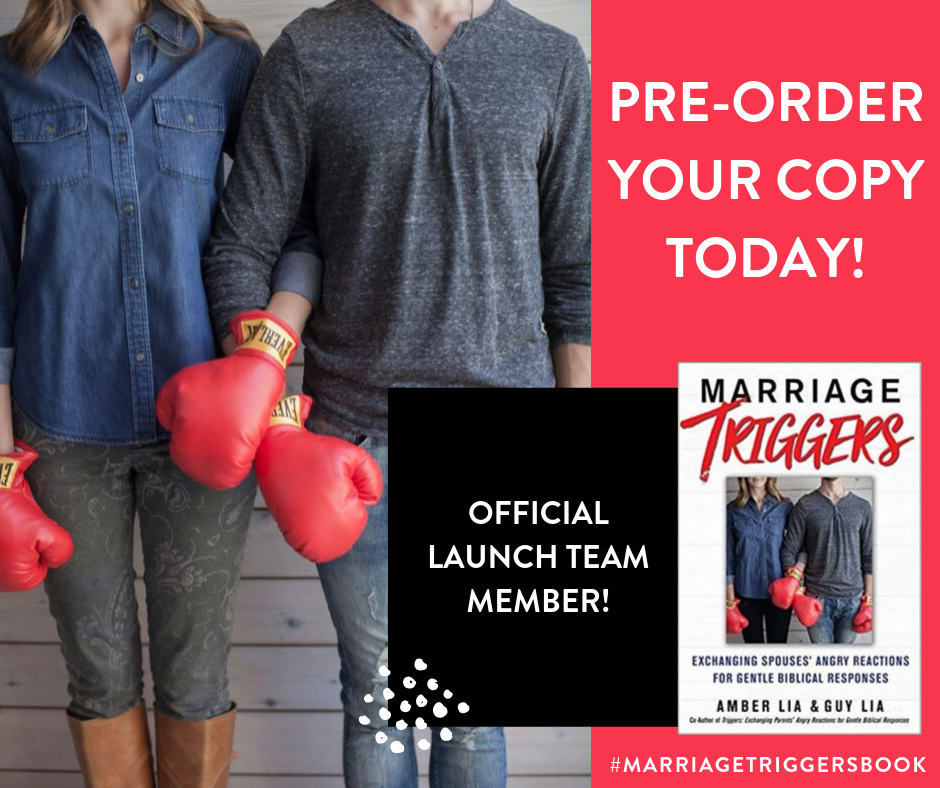 Marriage Triggers | Launch Team Member