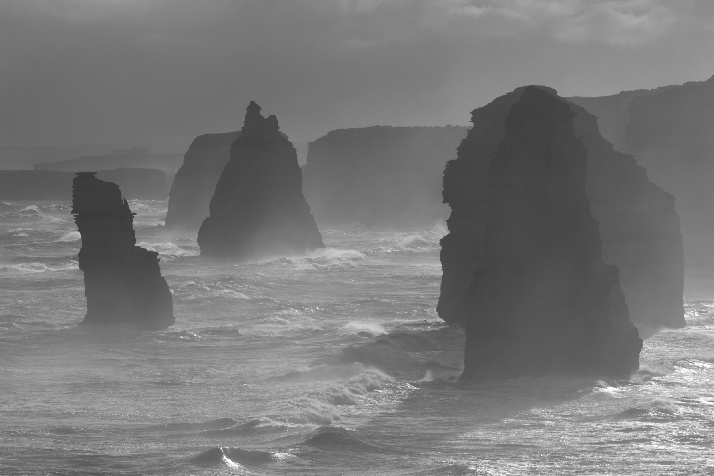 12 Apostles in Australia. With nature like this, it is hard to not take a good picture! So says Aaron.