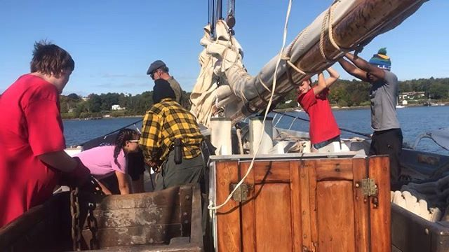A day in the life aboard a #tallship! #sailing #sailtraining
