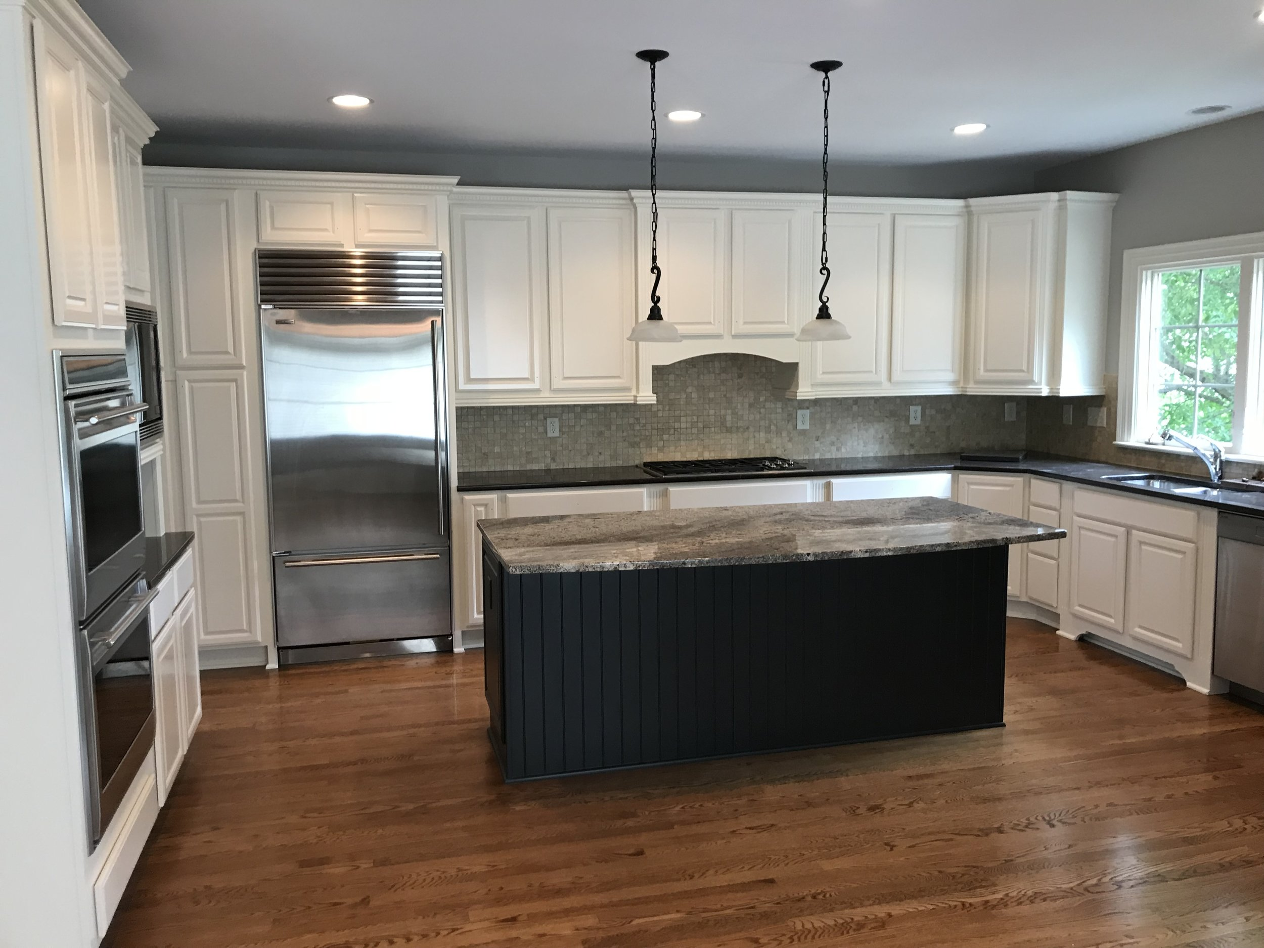 Top Tier Painting Company Kitchen Cabinets