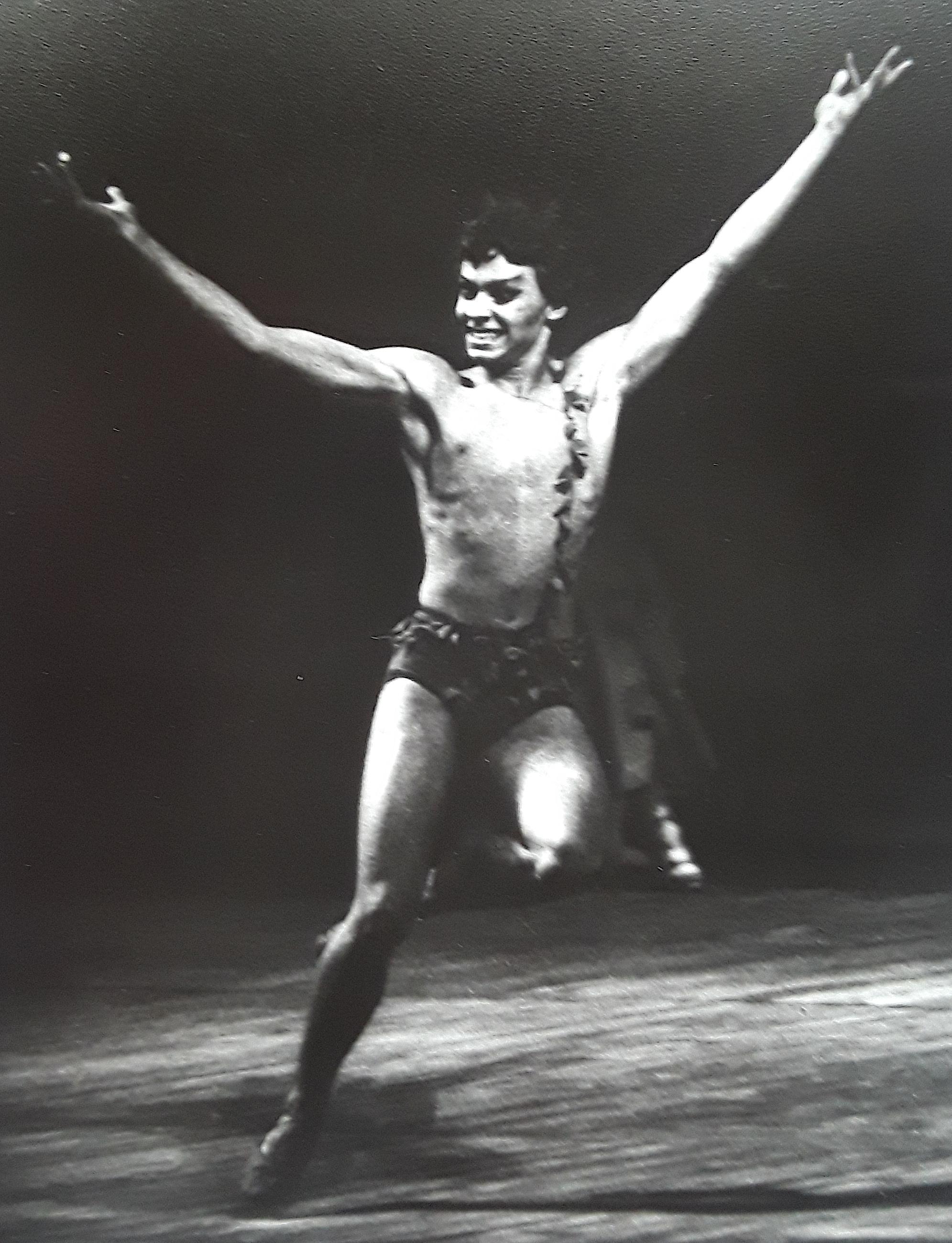 Slava as PAN in  Walpurgisnacht  at Mariinsky Theater.