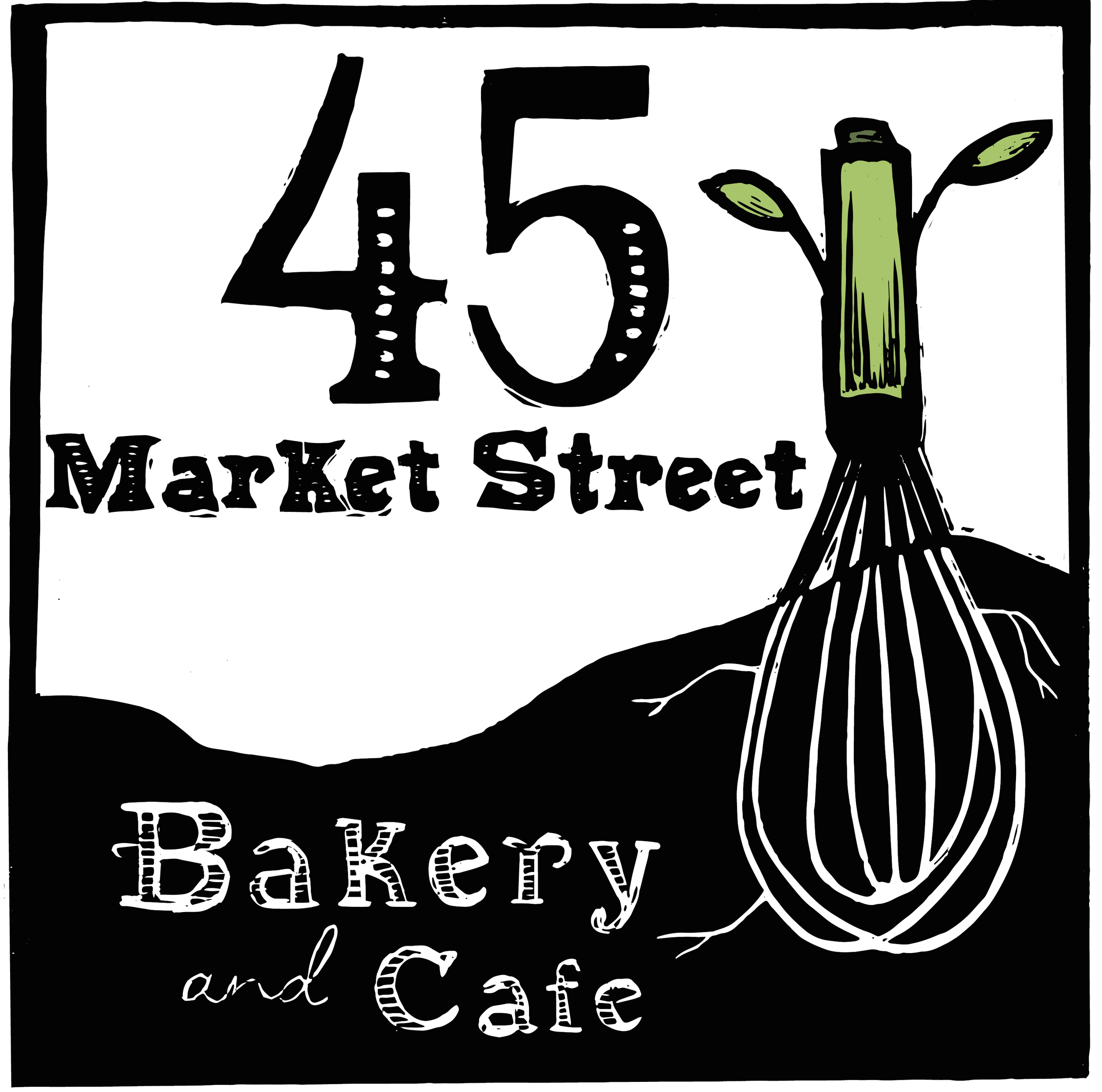 45 Market Street Bakery and Cafe logo