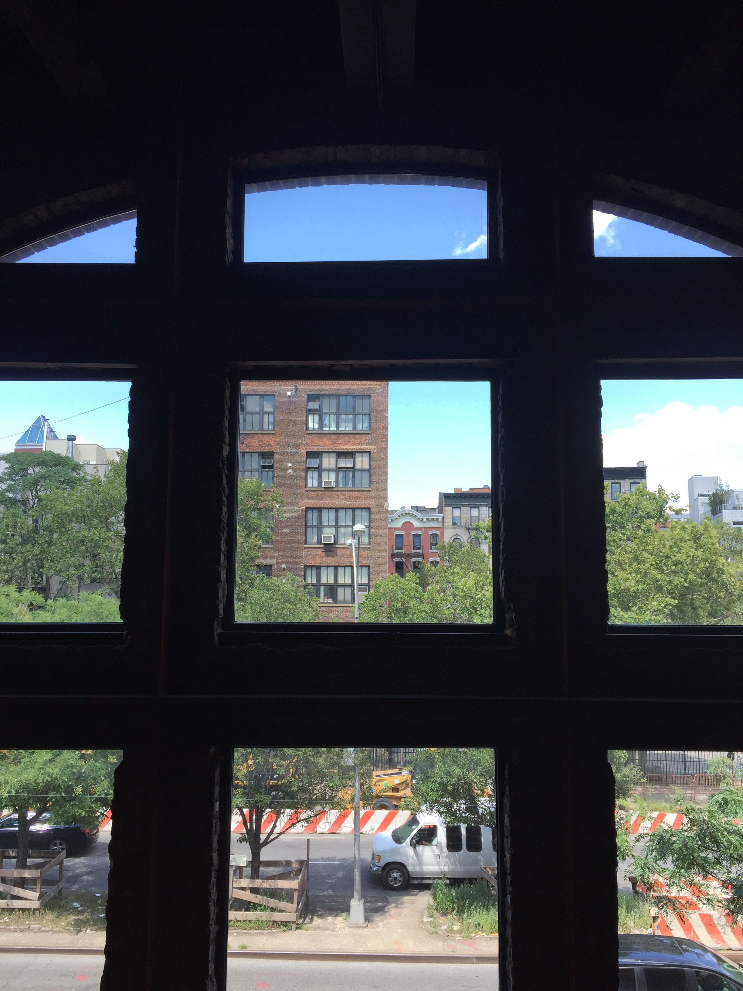 View from the Sunshine Cinema in the Lower East Side.