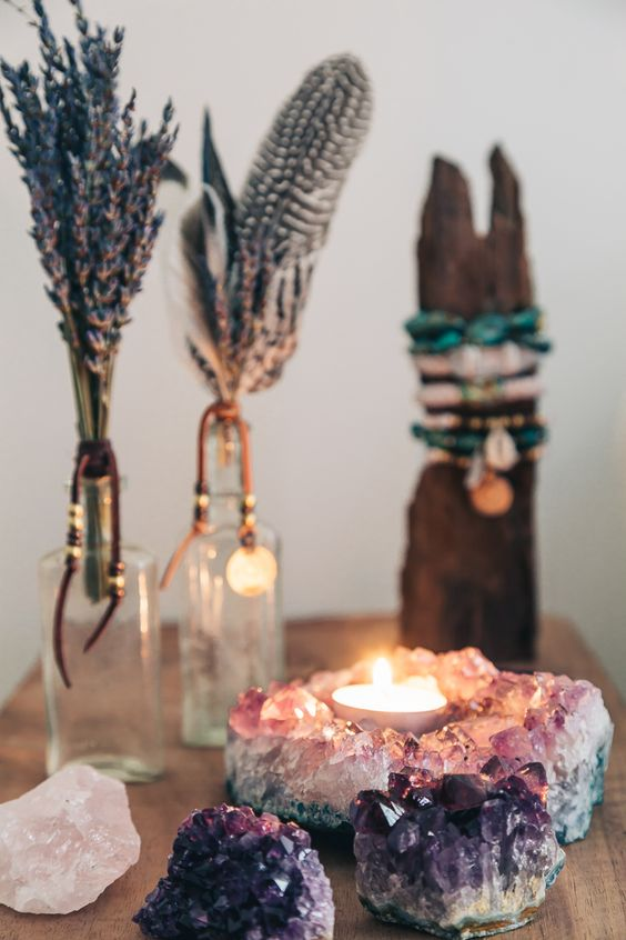 This is what this doctor's office had in mind when it was targeting clientele. People with entire Pinterest albums full of candles and crystals. Which is someone I could probably be if I really put my mind to it. Photo courtesy of  SoulMakes