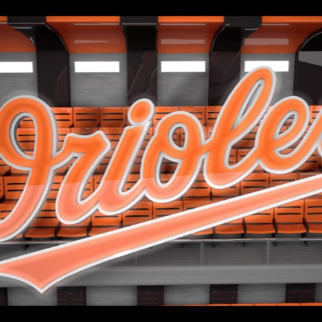 Orioles Jumbotron Animation -