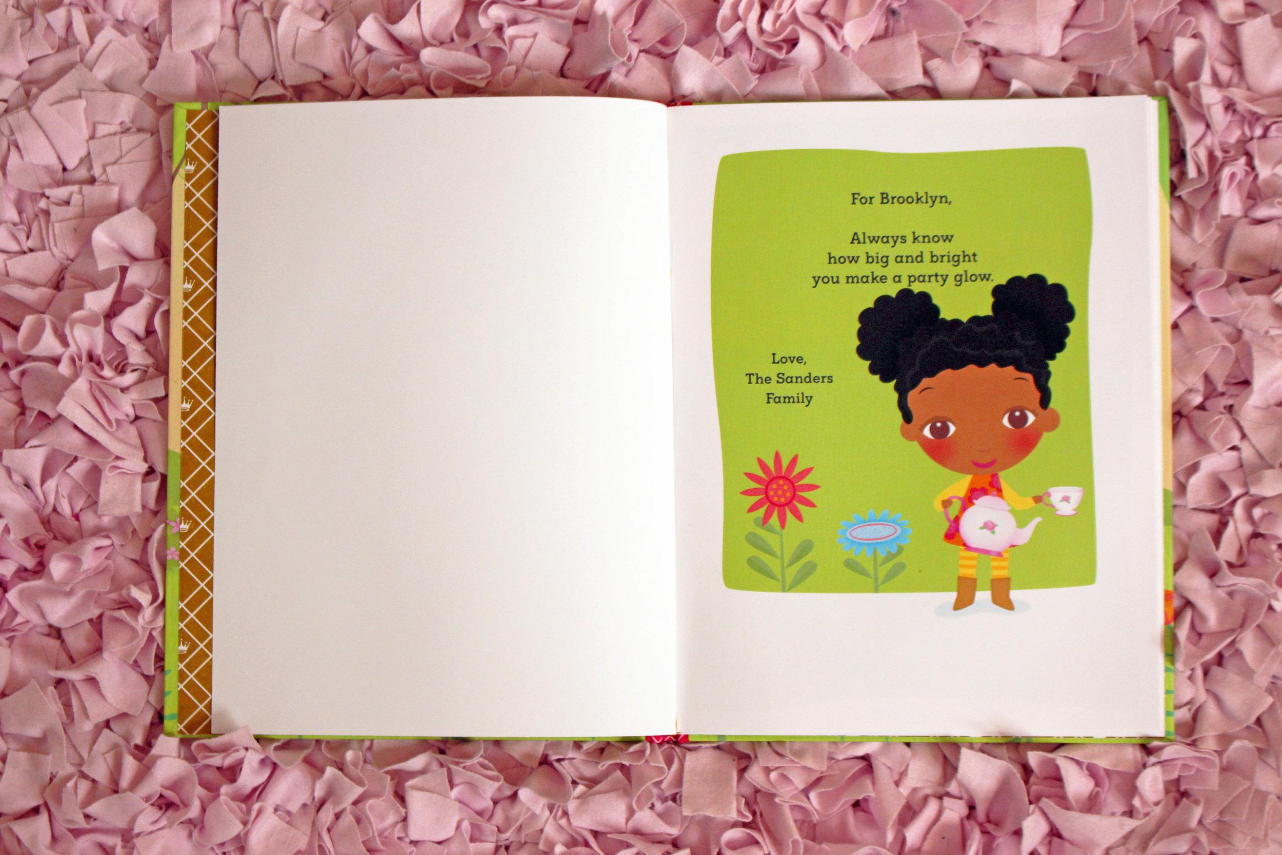 non-traditional baby gift ideas - personalized books | Pish Posh Perfect