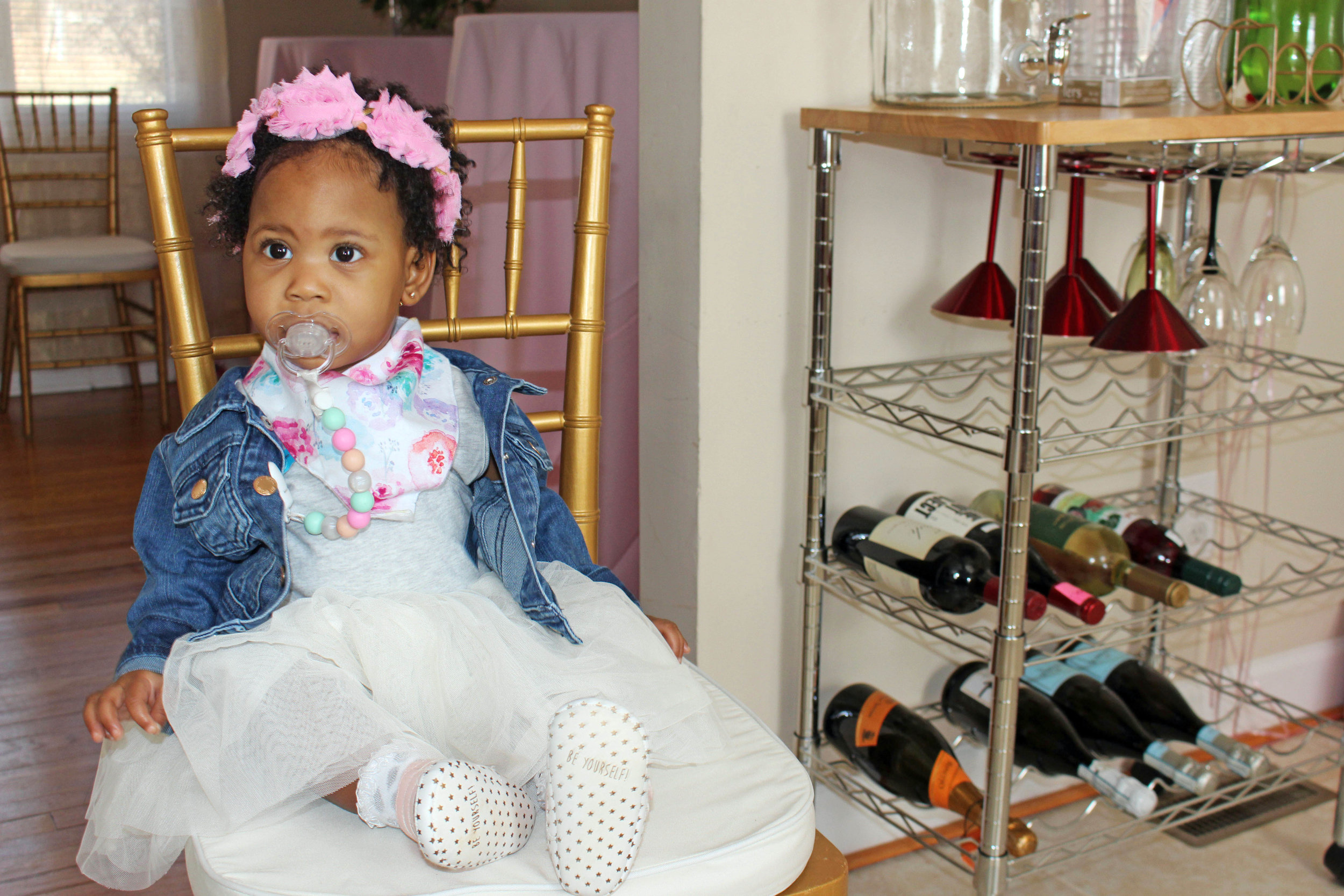 Brooklyn's Botanical Birthday - Old Navy tutu dress | Pish Posh Perfect