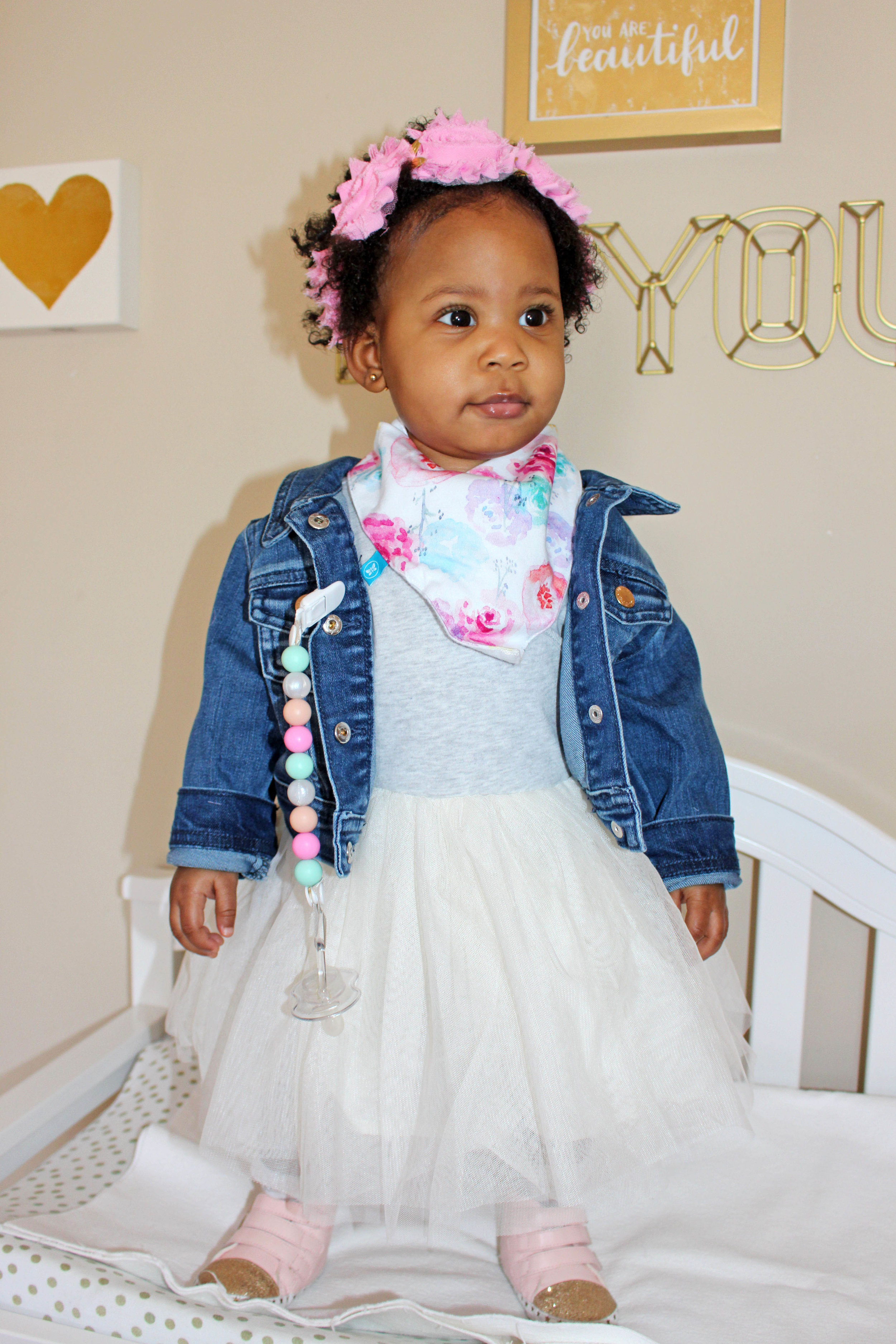 Brooklyn's Botanical First Birthday - Old Navy tutu dress | Pish Posh Perfect