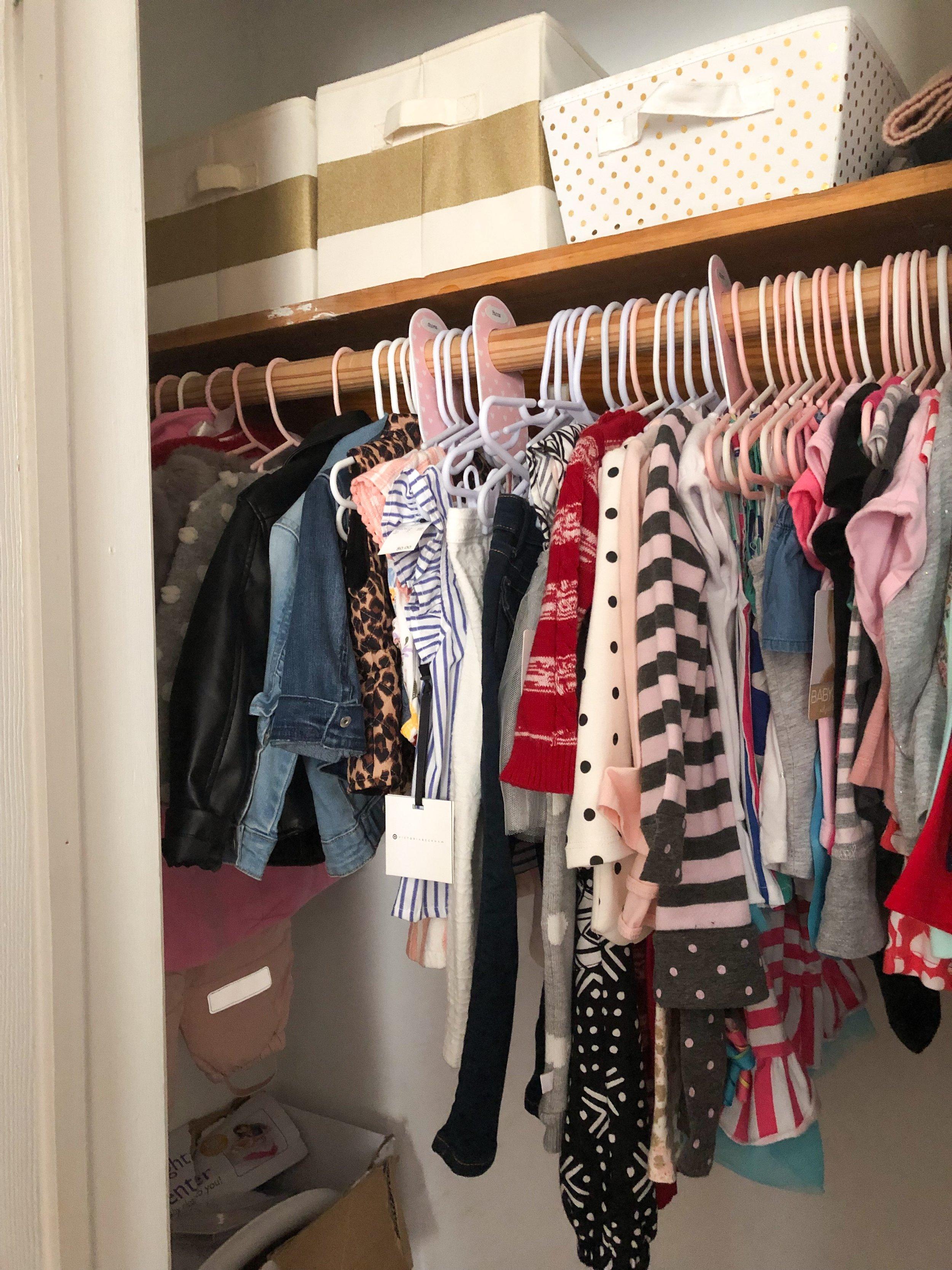 Toddler Closet - Before 2