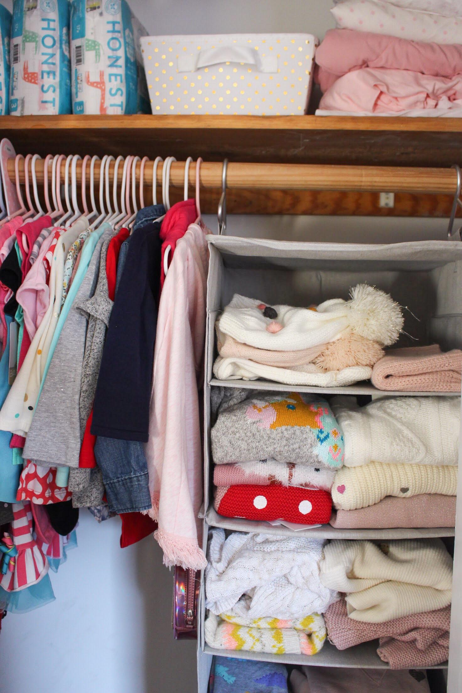 Toddler Closet - After 1