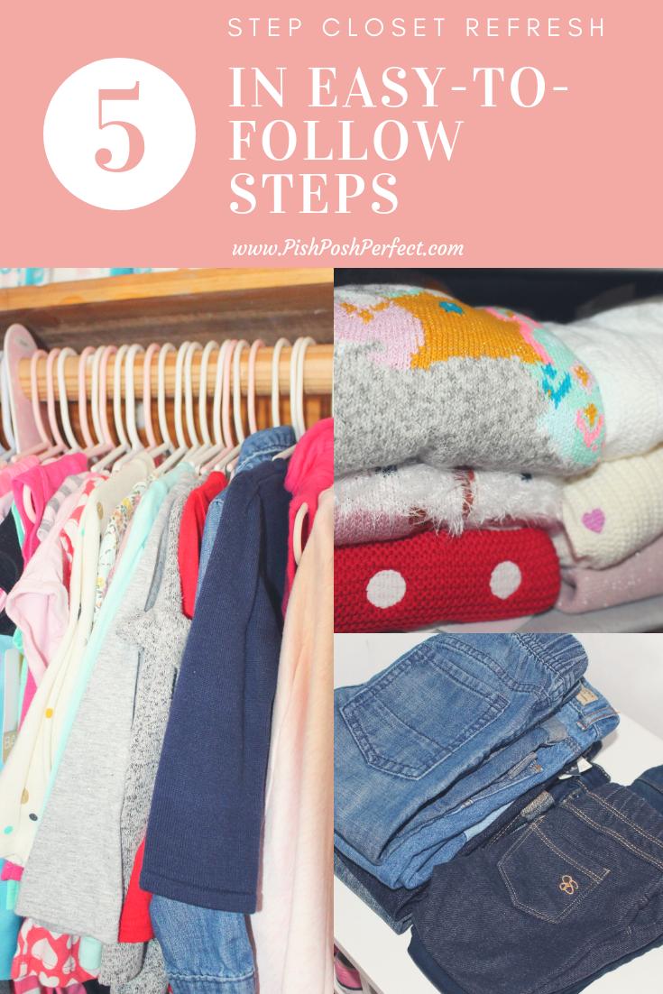 5-Step Closet Refresh