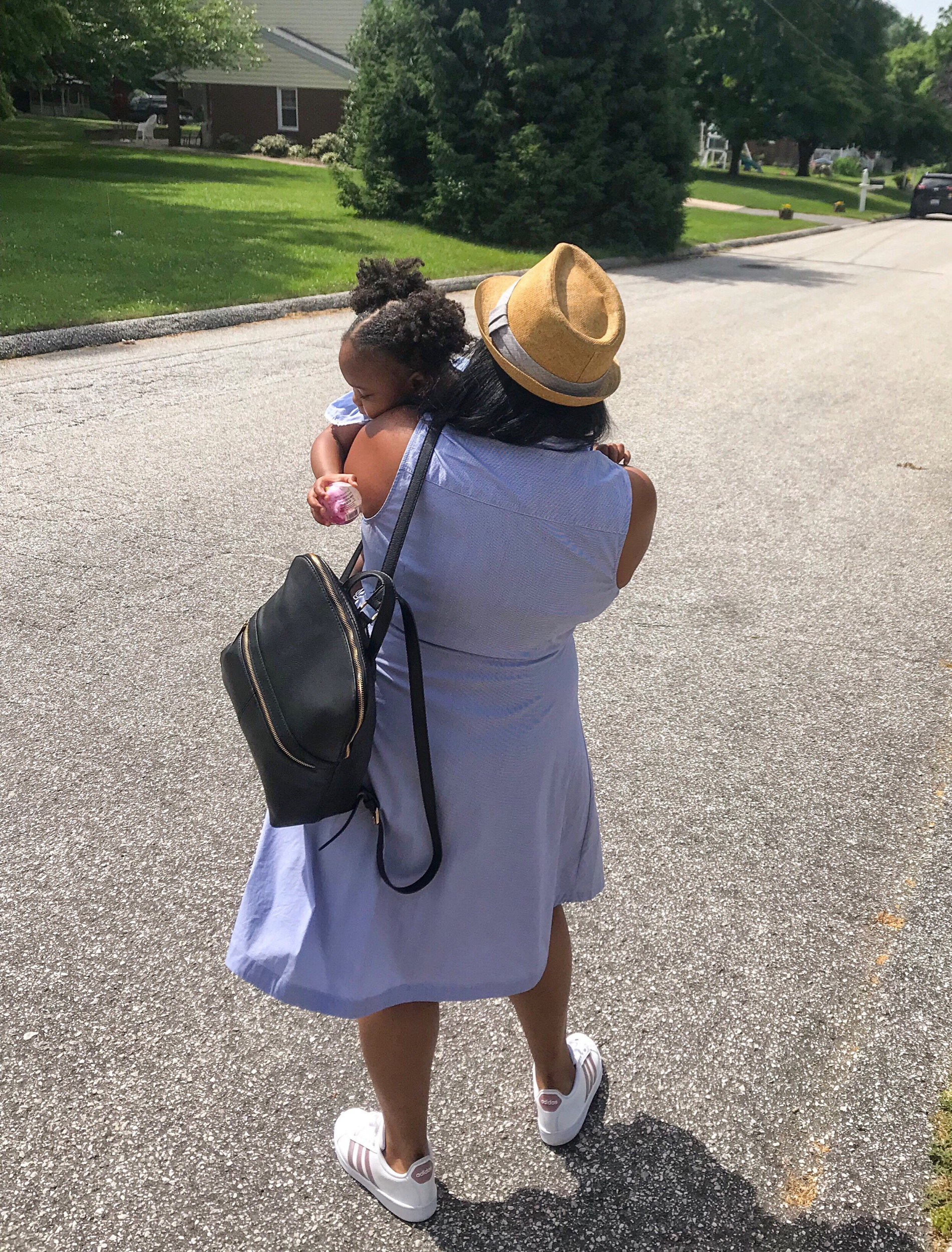 Mommy and Me Blue Stripes | Pish Posh Perfect