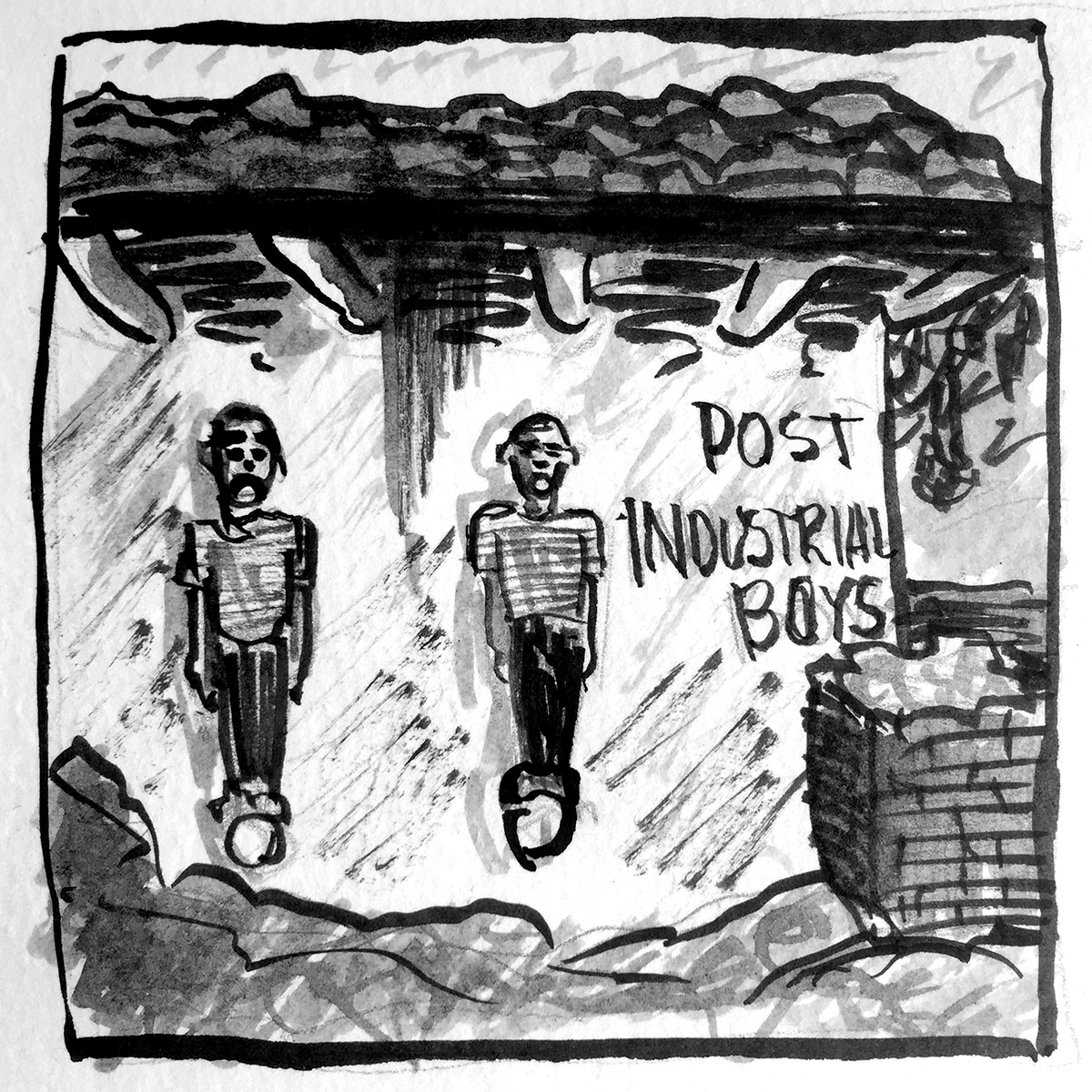 Post Industrial Boys Unintended