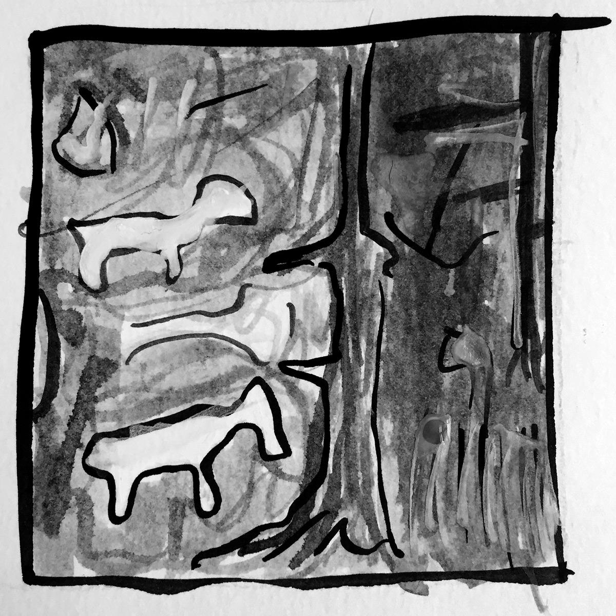 Ginger Baker Horses and Trees