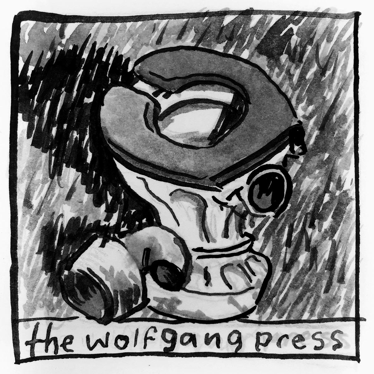 Wolfgang Press Birdwood Cage