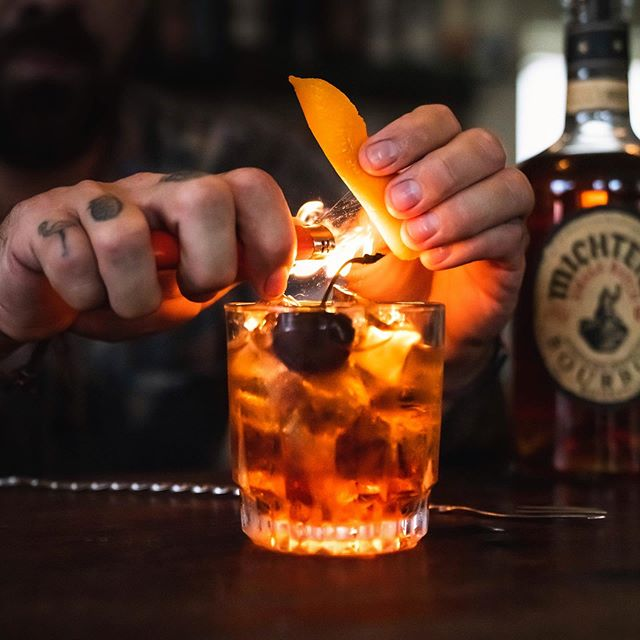 Get out of the cold and warm up the old fashioned way 🥃👹 It's about that time...