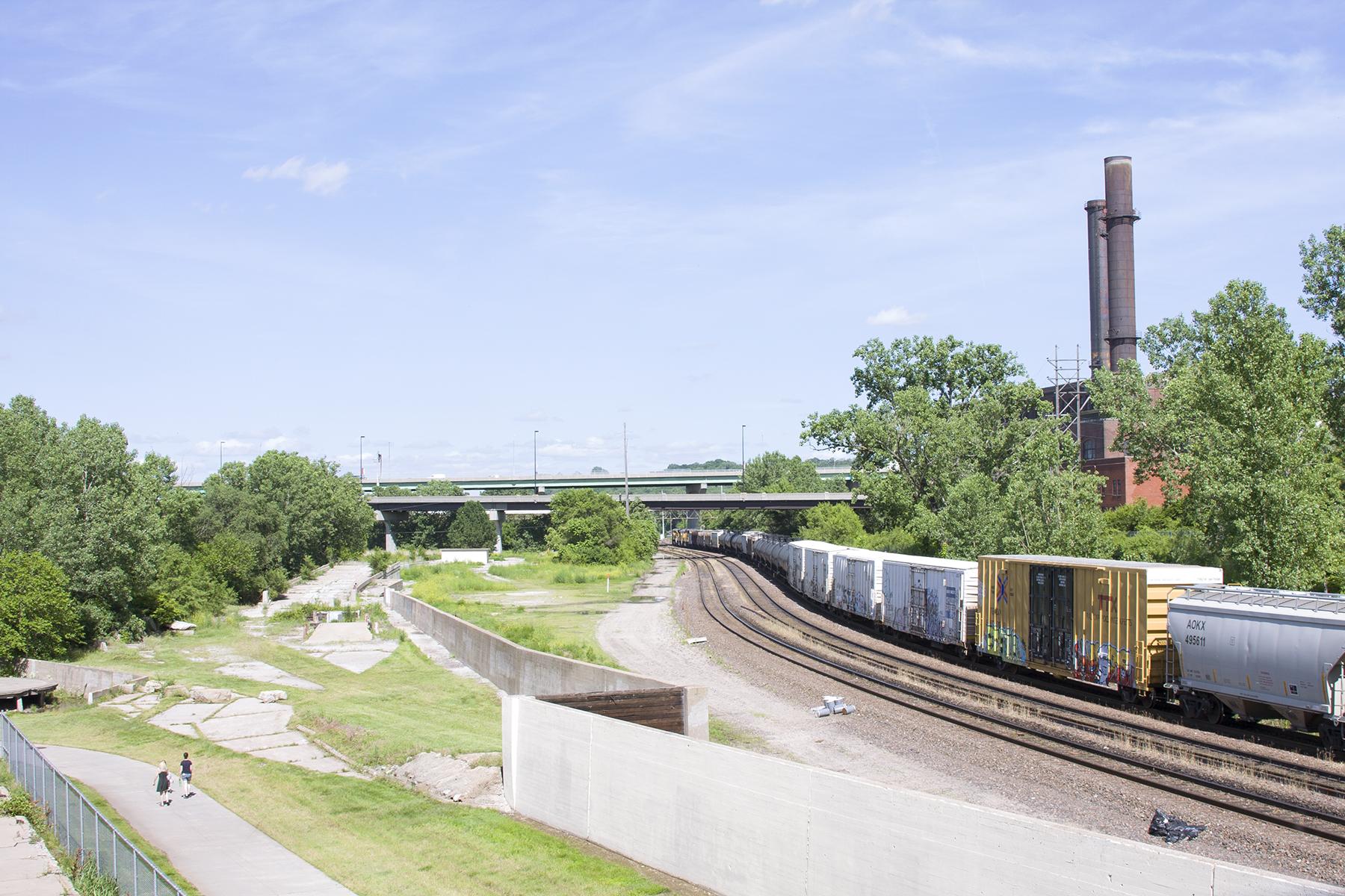 Riverfront Heritage Trail. Kansas City, Missouri. June, 2015