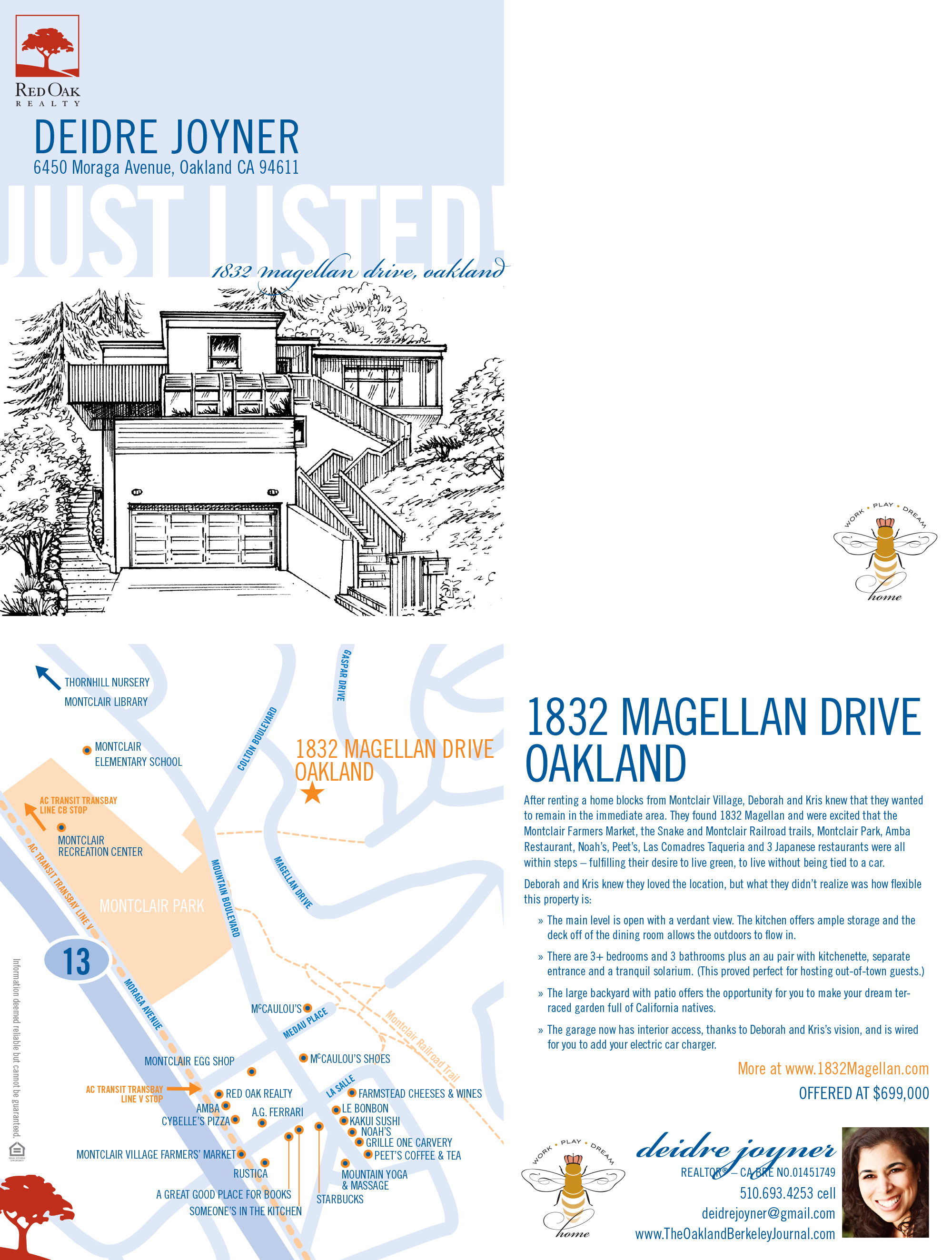 1832 Magellan Drive, Oakland