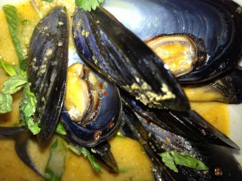 mussels @Hawker Fare