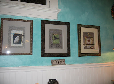 Nicole Hanshaw's artwork displayed at Mignonne Decor on Jefferson and Tenth in Old Oakland