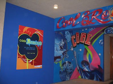 Graffiti art entry to the Birth of the Cool at the Oakland Museum. May 17th thru August 17th  Click Here For Exhibit Website