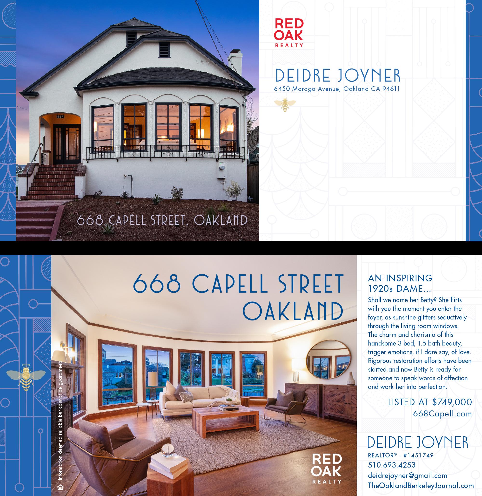 668 Capell Street, Oakland