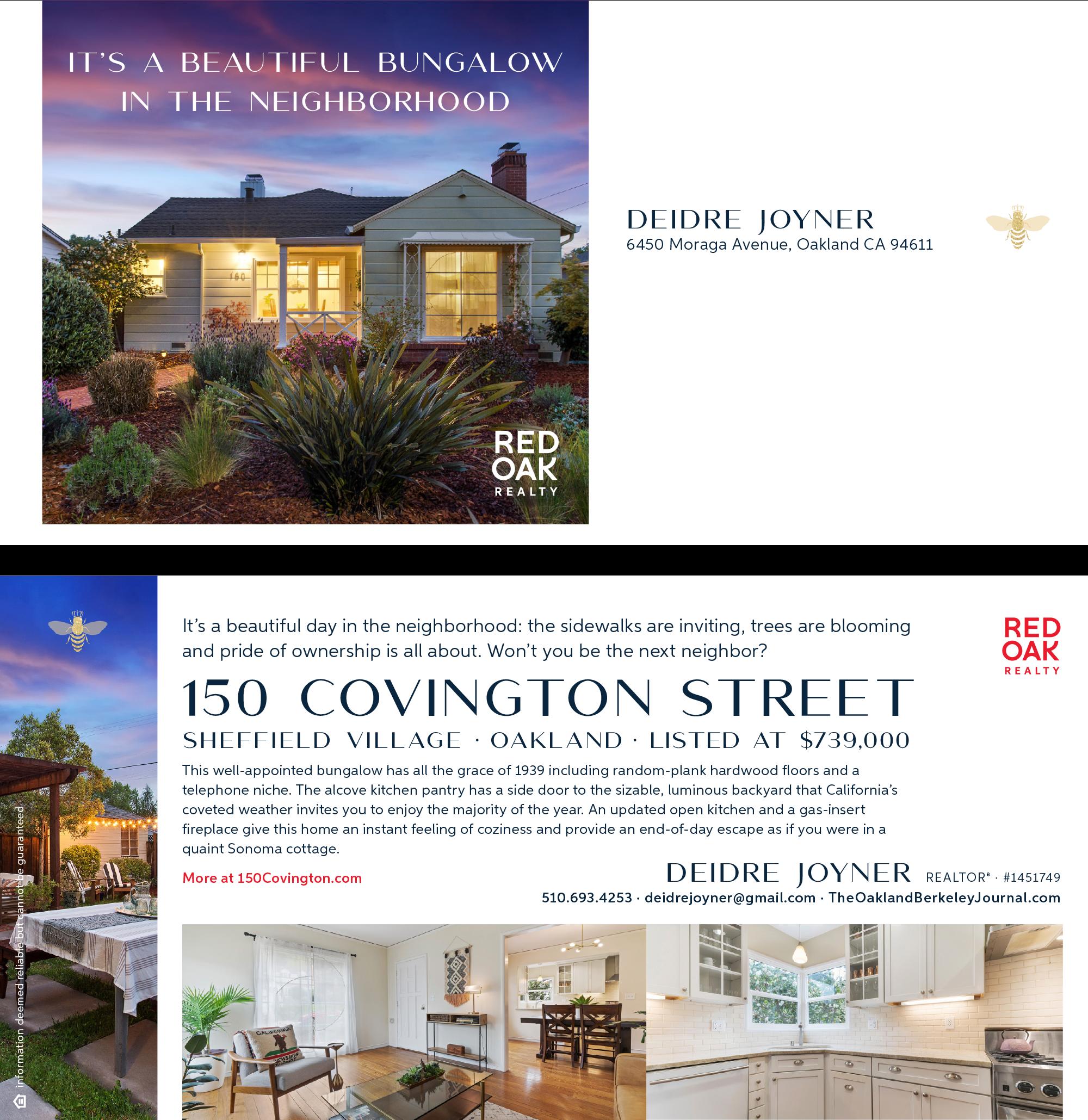 150 Covington Street, Oakland