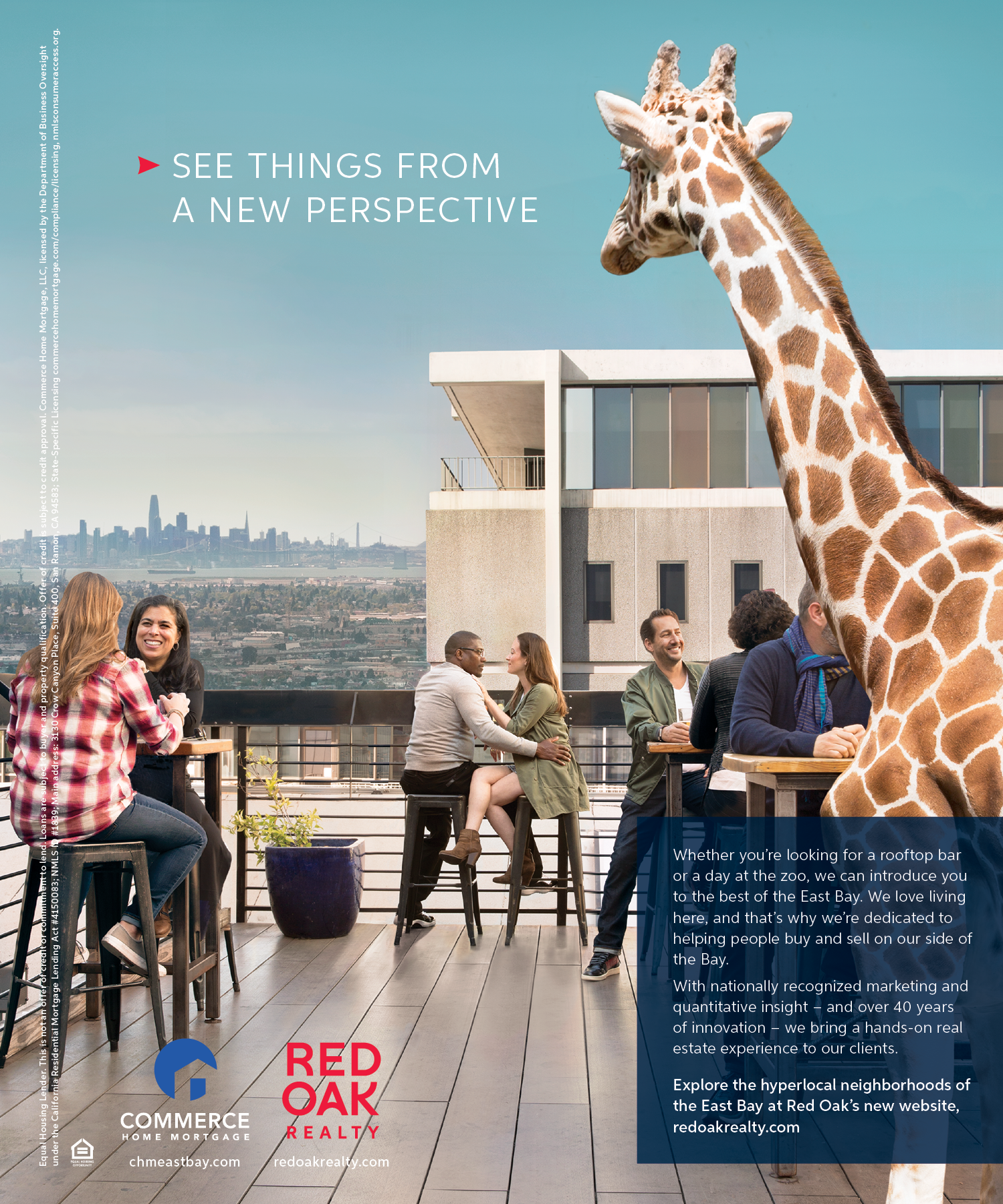 San Francisco Magazine | June 2019 | Red Oak Realty 2019 ad campaign