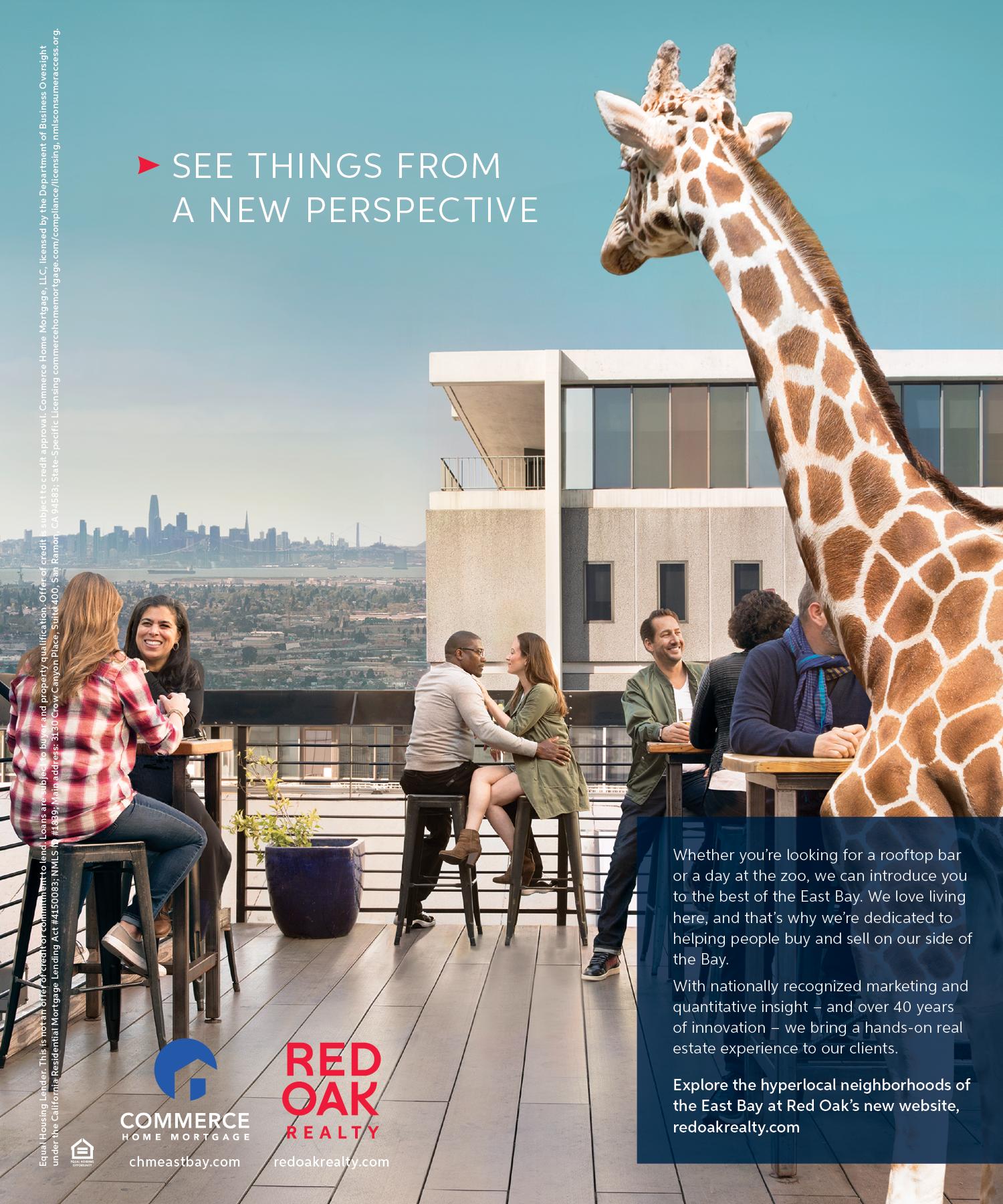 San Francisco Magazine | Jun 2019 | Red Oak Realty 2019 ad campaign