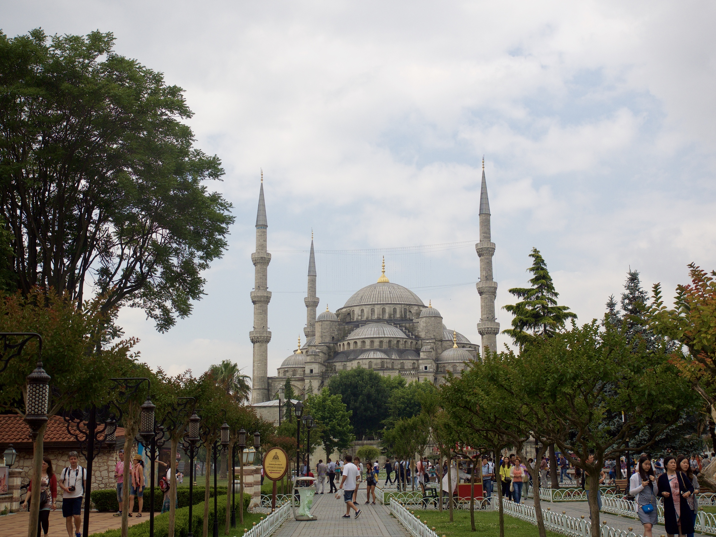 The beautiful Blue Mosque.