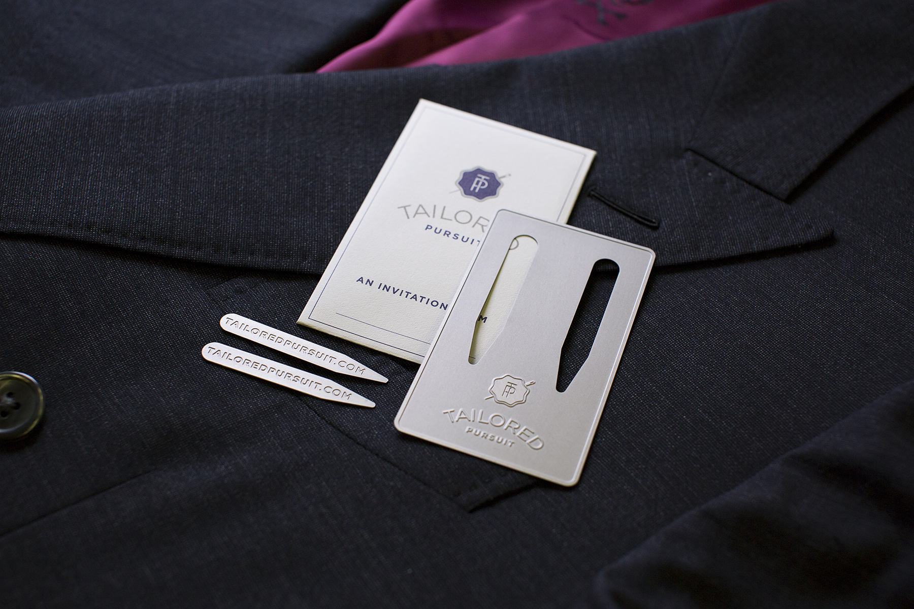 These collar stays offer a more lasting alternative to traditional plastic collar stays.