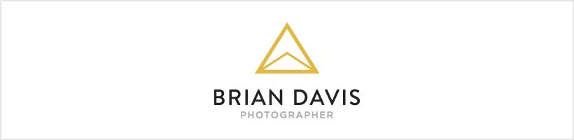 New Logo | Wedding and Lifestyle Photographer Brian Davis