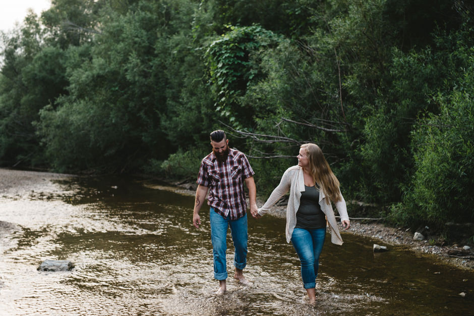 Michele and Cole's Ledges State Park Engagement Session
