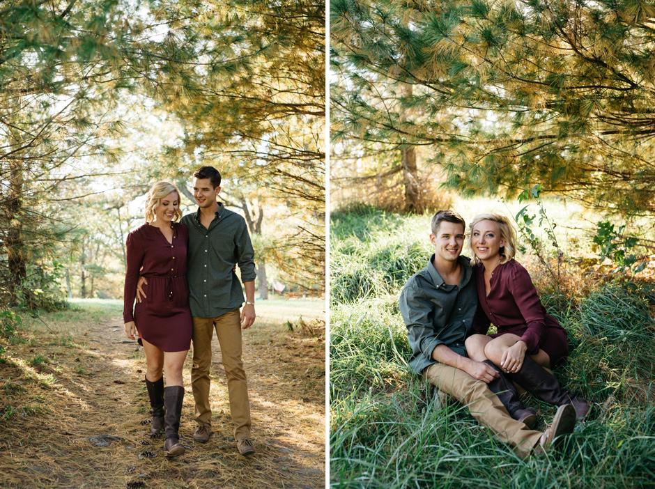 Paula and Derek's beautiful autumn engagement