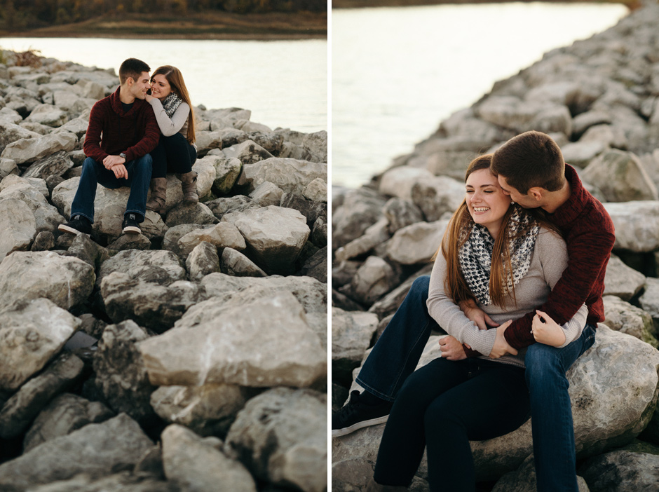 Shelby and Jordan Des Moines Engagement